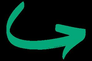 Pijl rechts groen